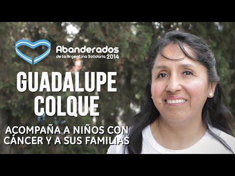 Guadalupe Colque es la Abanderada 2014