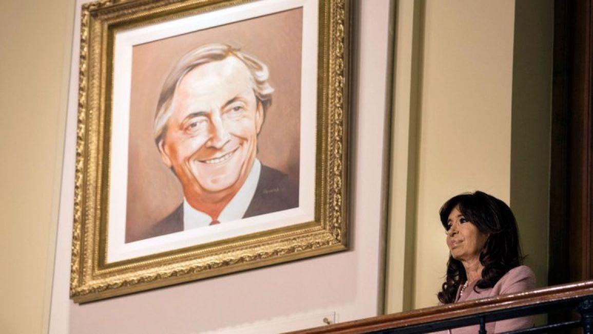 El gobierno descolg los cuadros de n stor kirchner y hugo - La casa de los cuadros ...