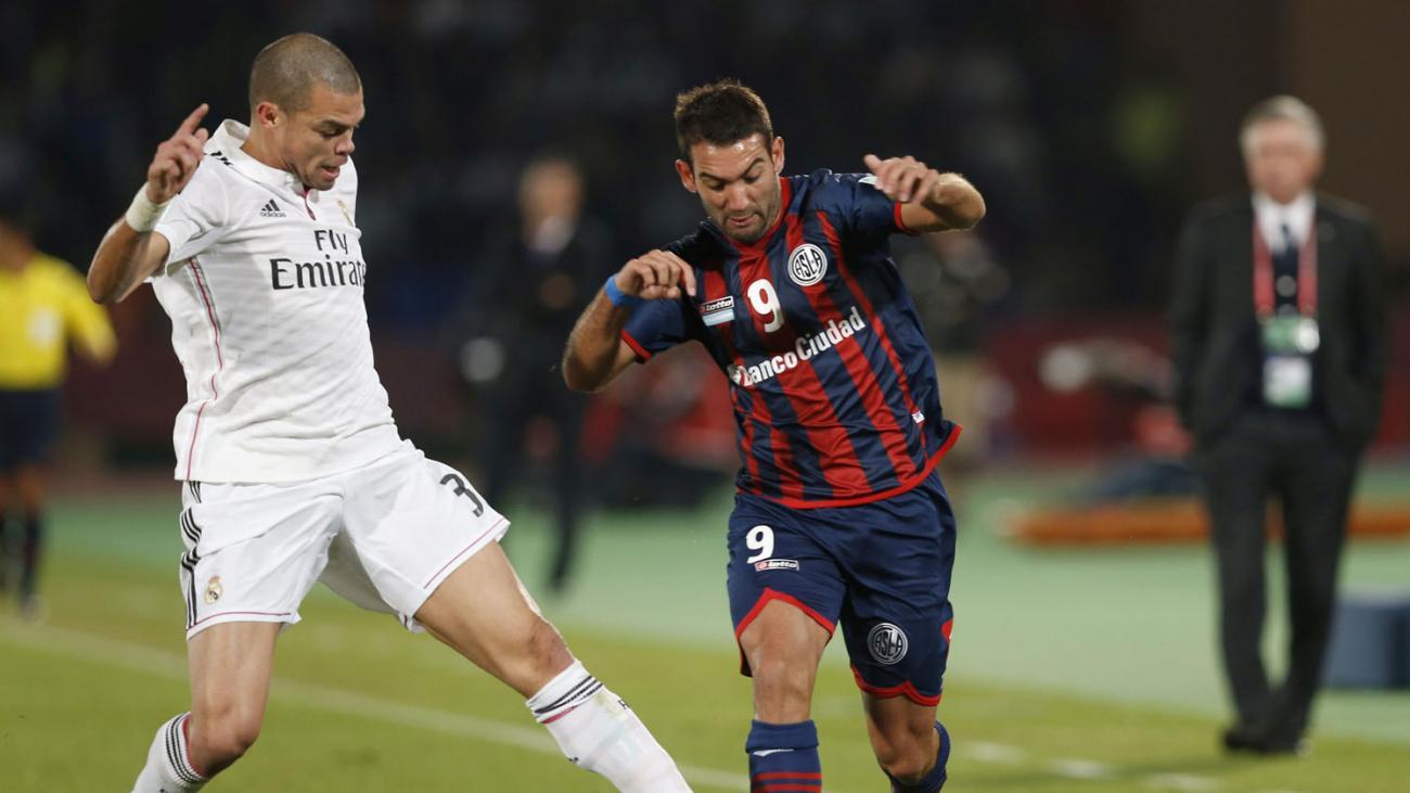 San Lorenzo no pudo alcanzar la utopía y perdió ante el Madrid 2 a 0