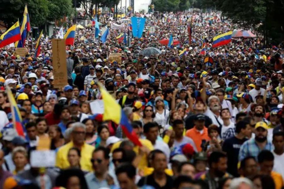 Un muerto y varios heridos tras nueva protesta opositora — VENEZUELA