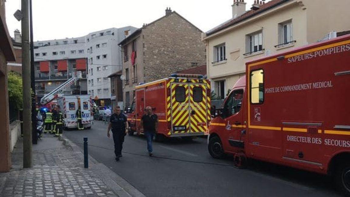 Alarma por una bomba molotov lanzada en un restaurante — París