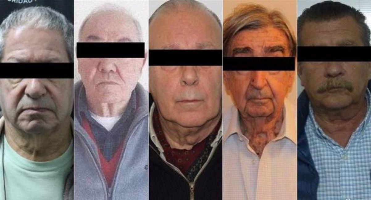 Detuvieron a cinco prófugos por delitos de lesa humanidad