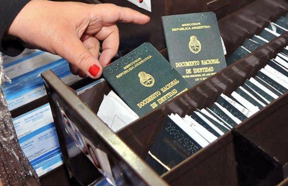 Hasta las 16 se pueden retirar DNI del Registro Civil