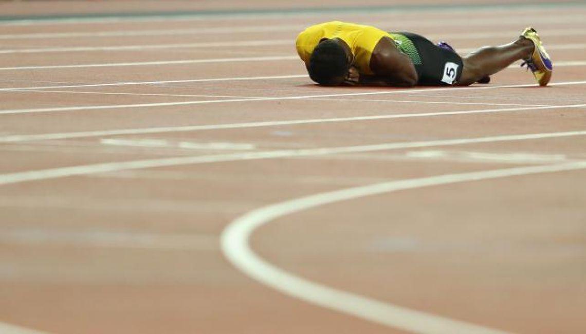 El 'Rayo' Bolt y su último recorrido por las pistas