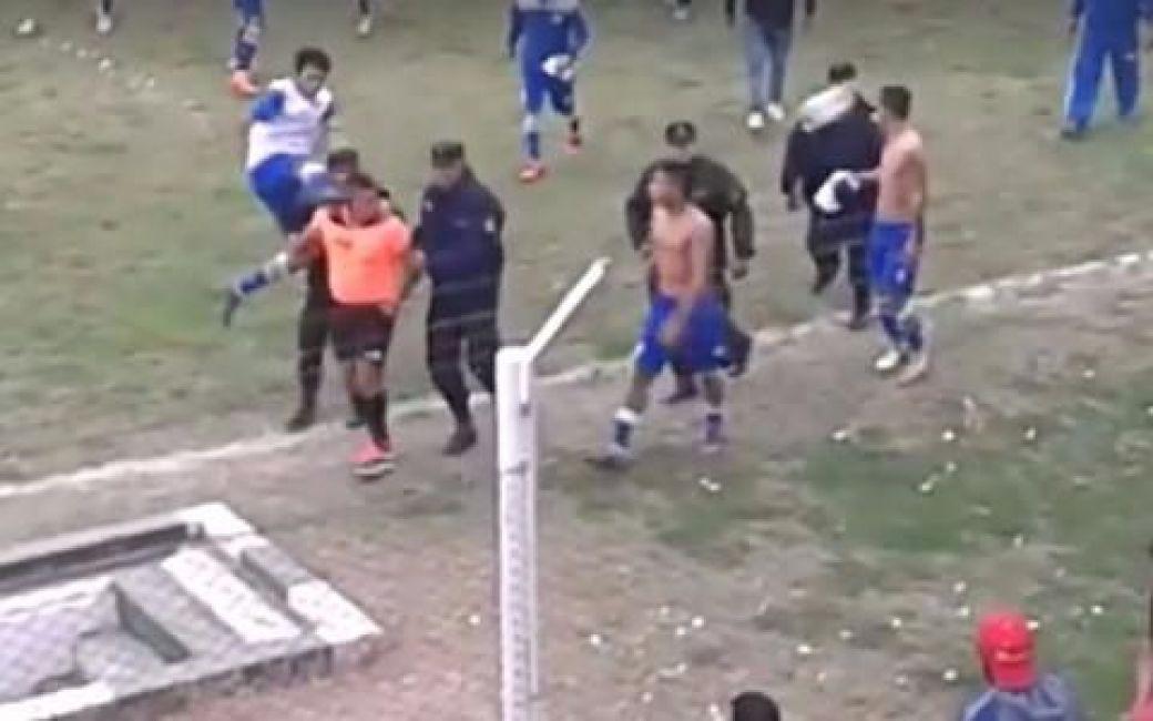 La salvaje agresión a un árbitro en Salta