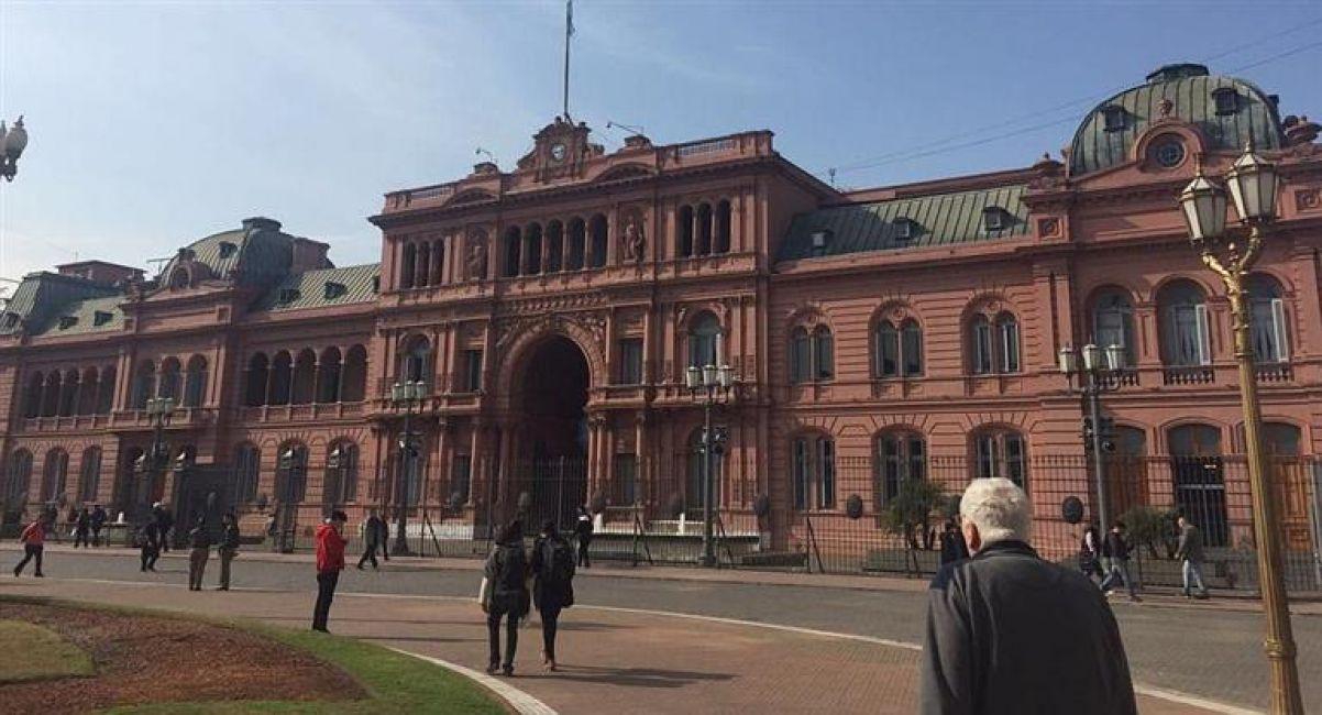 Nuevo incidente frente a Casa Rosada: cinco detenidos