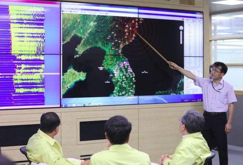Un terremoto sacudió a Corea del Norte tras una explosión
