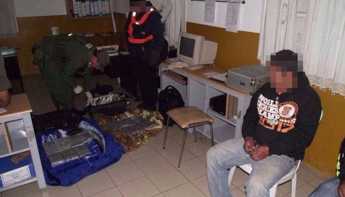 Incautaron 16 kilos de cocaína en el acceso norte de Rafaela