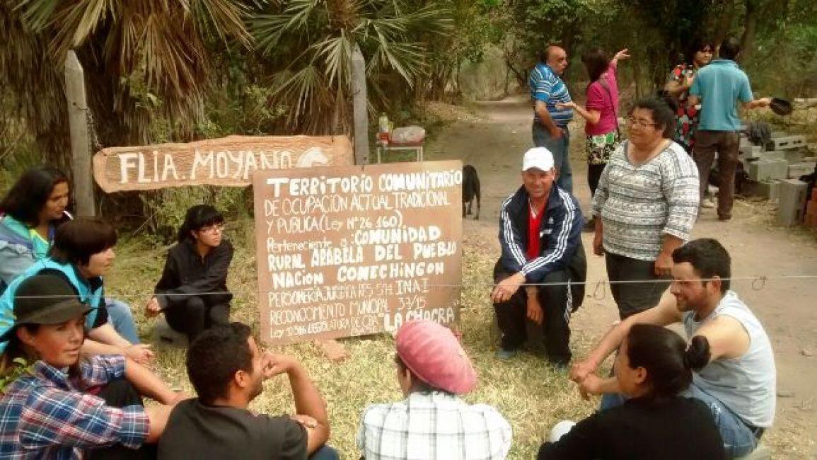 Diputados aprobó la ley que suspende los desalojos de tierras