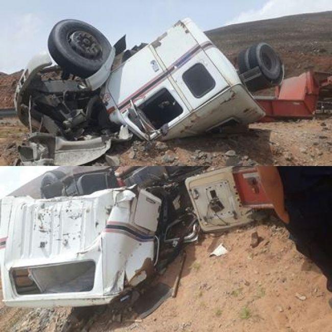 Volcó en Salta un camión que transportaba un megatelescopio