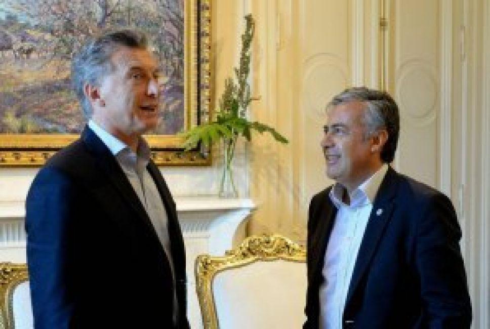 Macri aceptó varios puntos de la propuesta de Cornejo — Gas