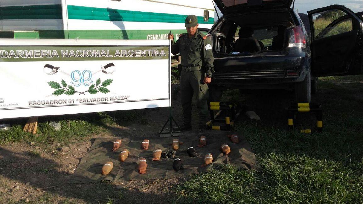 Secuestraron 31,5 kilos de cocaína en Salta