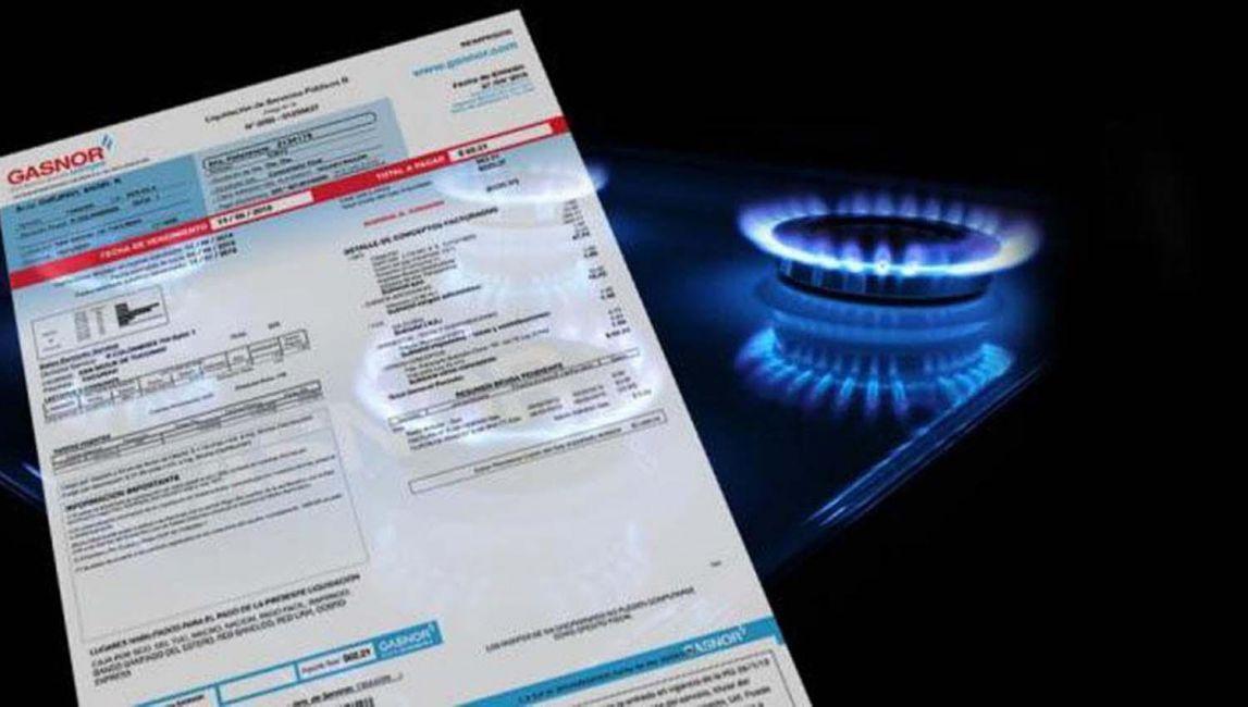 Reglamentaron el pago en tres cuotas del consumo de gas