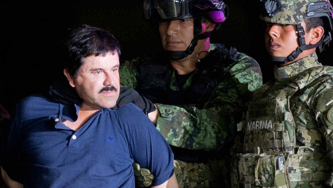Retira EU 6 cargos contra 'El Chapo'