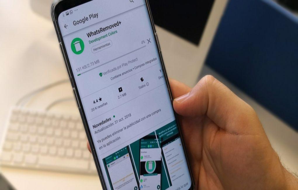 Cómo saber que decía un mensaje eliminado — Whatsapp