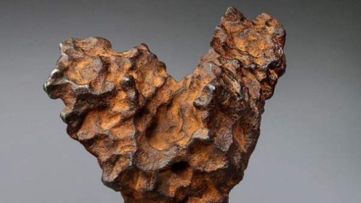 Un meteorito en forma de corazón será subastado en San Valentín