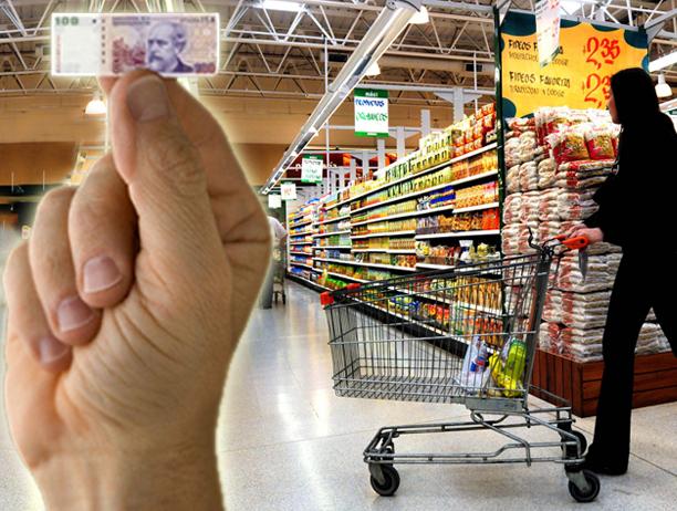 Los argentinos sienten la suba de precios fuertemente