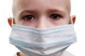 Campaña del barbijo en el hospital Materno Infantil
