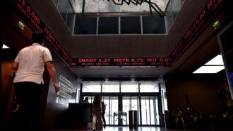 La Bolsa de Atenas se hundió un 17%