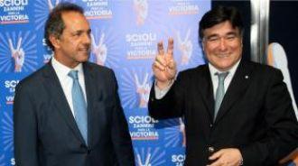Scioli y Zannini encabezarán un acto político en Jujuy