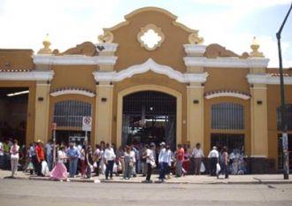 Un niño lesionado en el Mercado San Miguel
