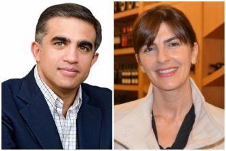 Bettina Romero y Miguel Nanni unidos por Macri