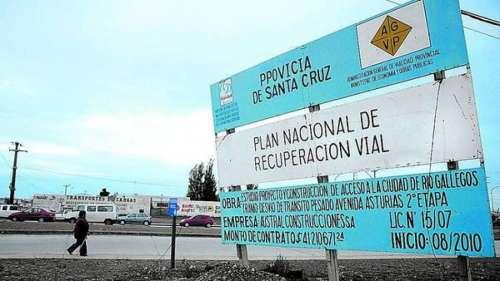 El kirchnerismo invertirá  $ 4.600 millones más, en obras  públicas en Santa Cruz