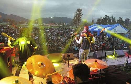 Duelo de bandas en Parque del Bicentenario
