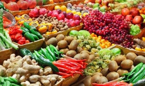Frutas y verduras a mitad de precio