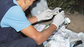 Simuló un robo y escondió 200 mil pesos en el monte santiagueño