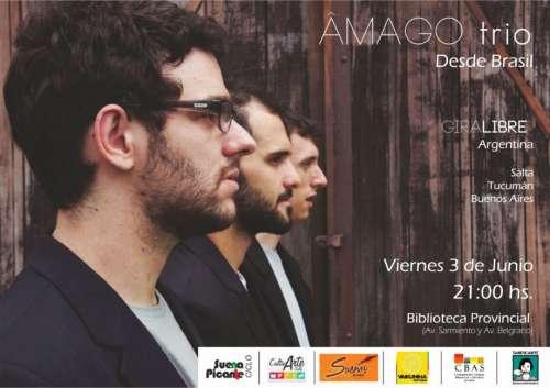 ÂMAGO TRIO en concierto y clínica musical