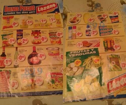 PARA LLORAR: se publicó un catálogo de precios del año 2000
