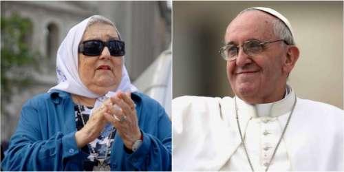 Hebe y peronistas viajan para reunirse con el papa Francisco