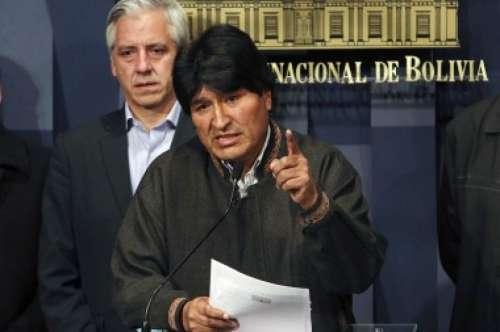 """Evo Morales calificó de """"cobarde e imperdonable"""" el asesinato del viceministro"""