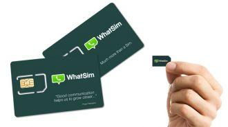 Whatsim, el chip para usar sólo Whatsapp sin pagar roaming