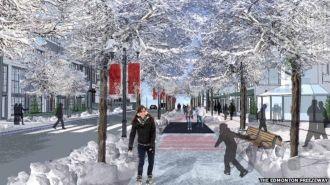 El estudiante que quiere construir 11 kilómetros de ruta congelada para patines