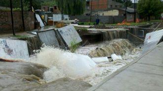 Caos por el temporal en Salta