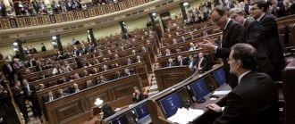 """El Congreso español aprobó una polémica ley de seguridad """"franquista"""""""