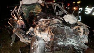 Dos víctimas fatales  en un siniestro vial sobre ruta N° 9