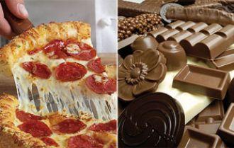 ¿Por qué la pizza y el chocolate son adictivos?
