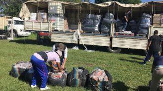 12 mil pares de zapatillas secuestrados en operativo de AFIP