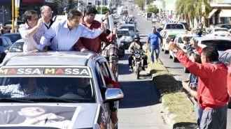 Massa volvió a prometer que suprimirá el impuesto a las ganancias