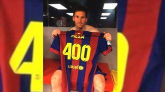 400 gritos de Messi