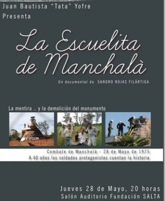 """Llega el estreno del documental """"La Escuelita de Manchalá"""""""