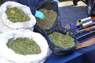 Incautan más de 6 toneladas de marihuana que navegaban hacia Buenos Aires