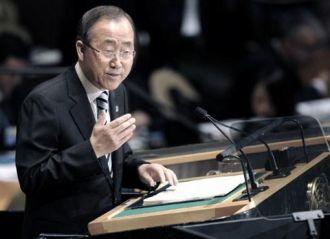 Ban Ki-moon criticó los planes de la Unión Europea de destruir embarcaciones libias