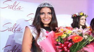 Claudia Barrionuevo es Miss Universo Salta