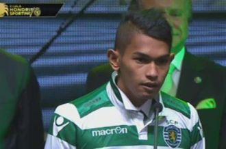 Sobrevivió al tsunami bebiendo agua de charcos y ahora juega en Sporting Lisboa
