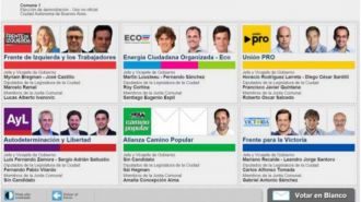 Buenos Aires estrena el sistema de boleta electrónica en las generales