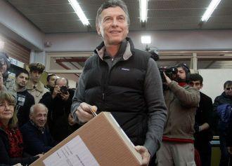 Macri habló de despedida al salir de votar